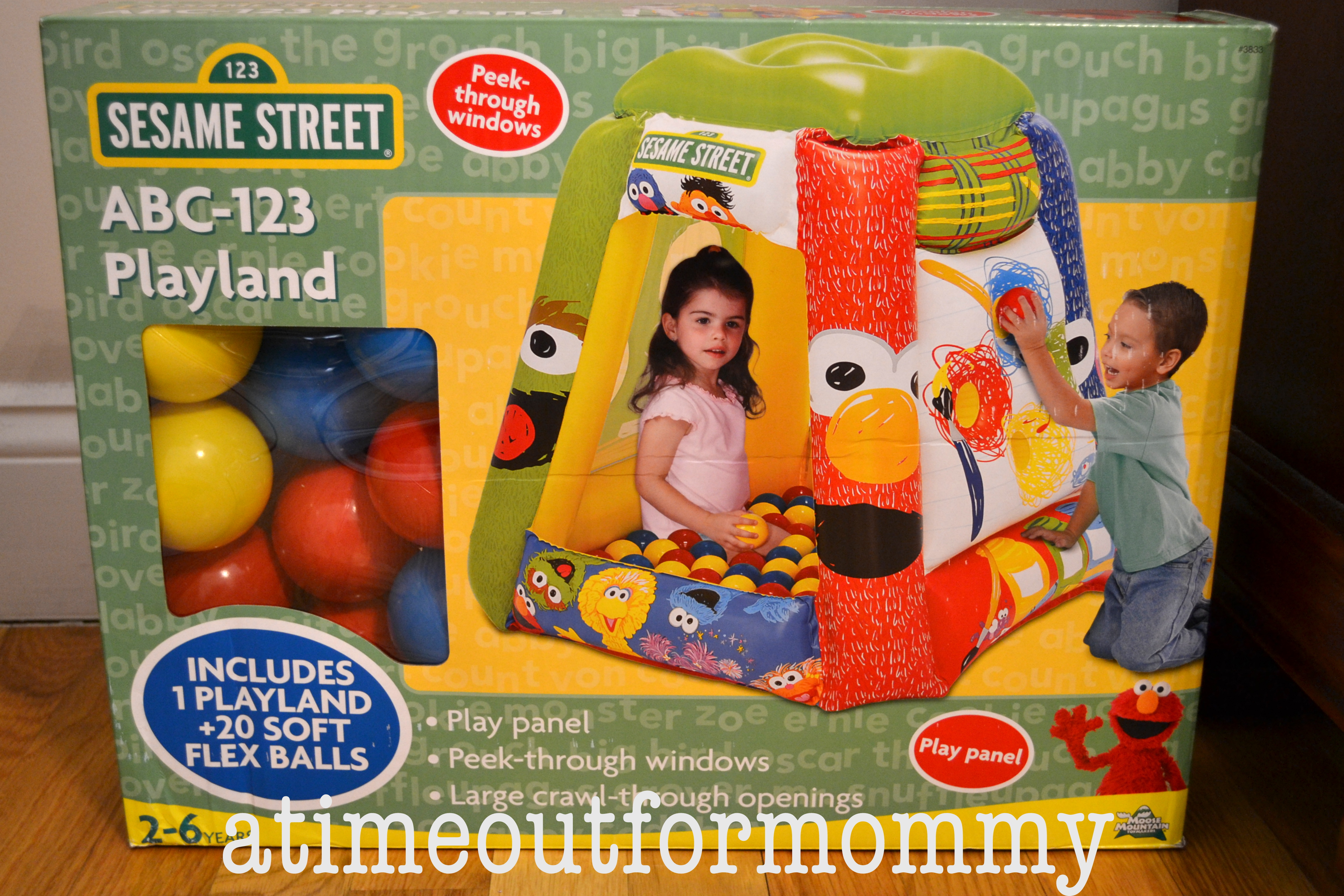 Hot Summer Toys: Indoor Fun with Sesame Street ABC Playland Inflatable Ball Pit