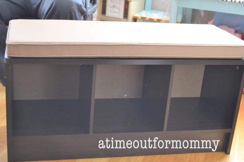 Closetmaid 3 Cube Espresso Storage Bench Designs