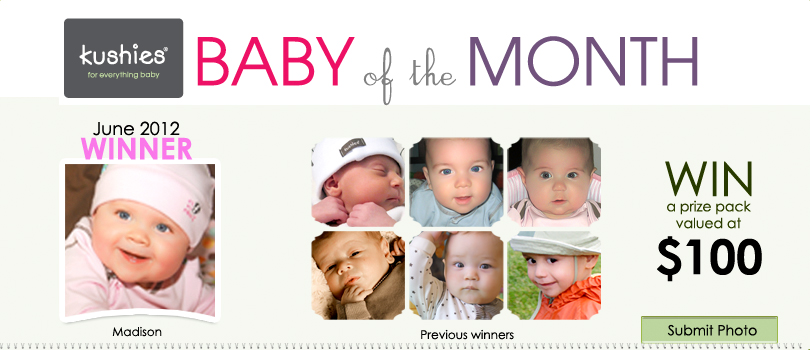 Kushies Baby of the Month