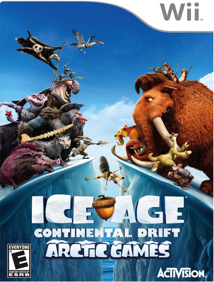 Ice Age Continental Drift Wii