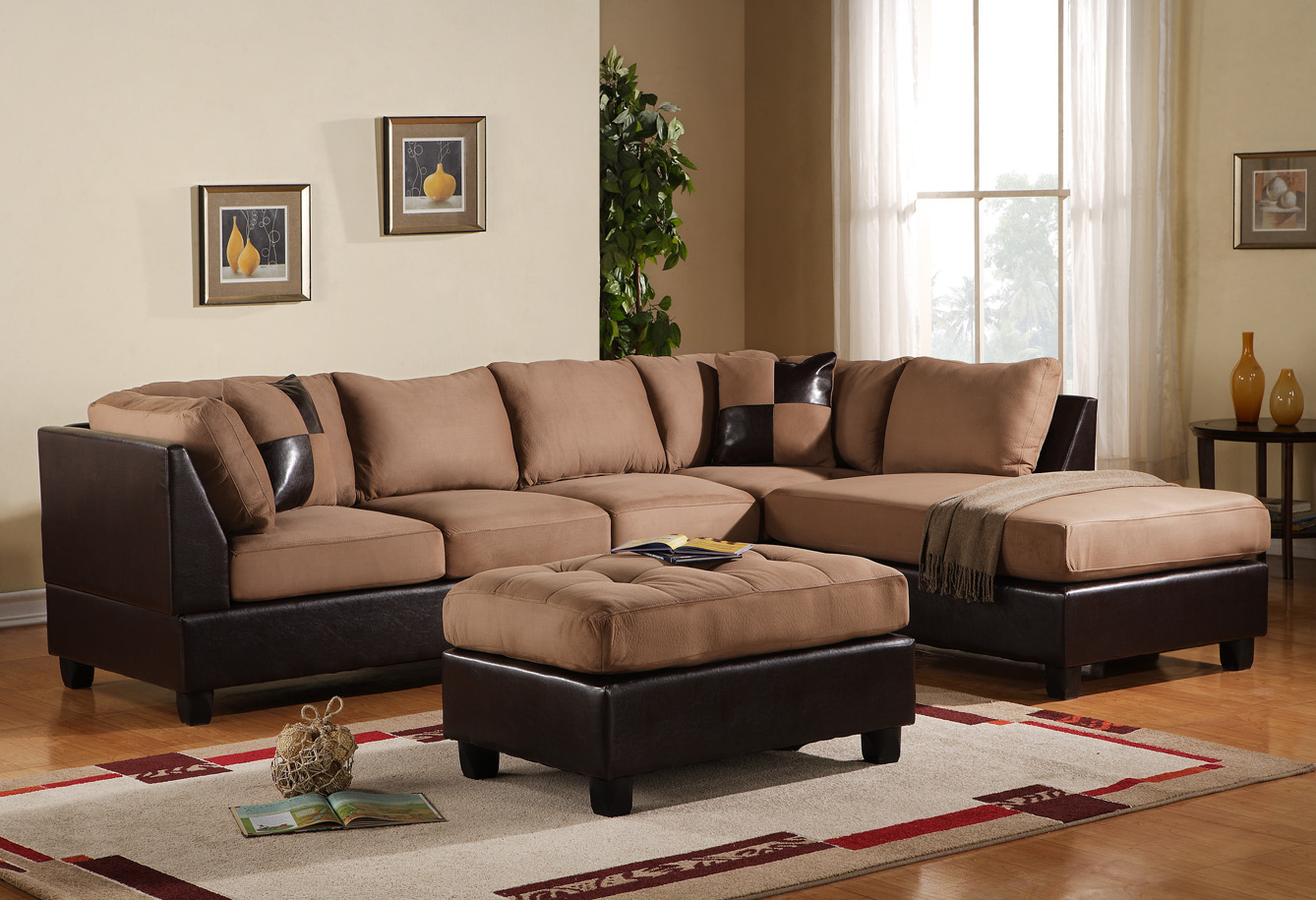 Enter to win a 3 piece sofa sectional value 700 a time for Couch living room ideas