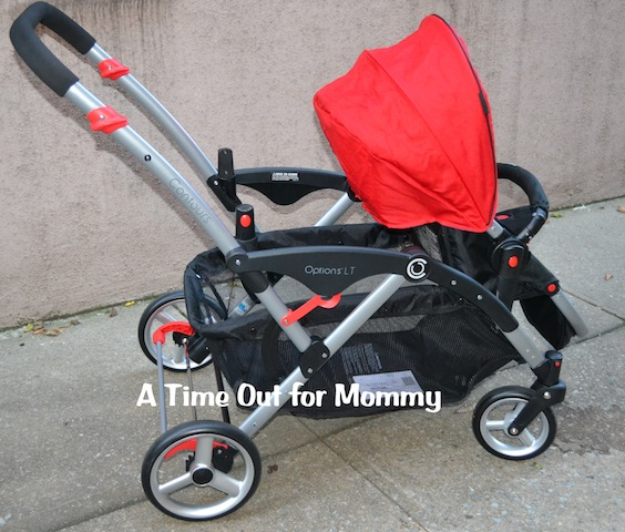 Contours Options LT Tandem Stroller Review - A Time Out for Mommy
