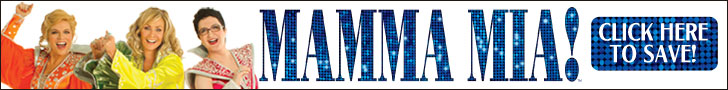 Discounted tickets for Mamma Mia on Broadway!