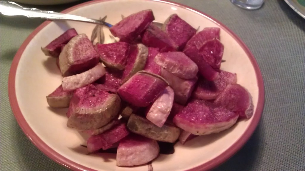 how to eat watermelon radishes