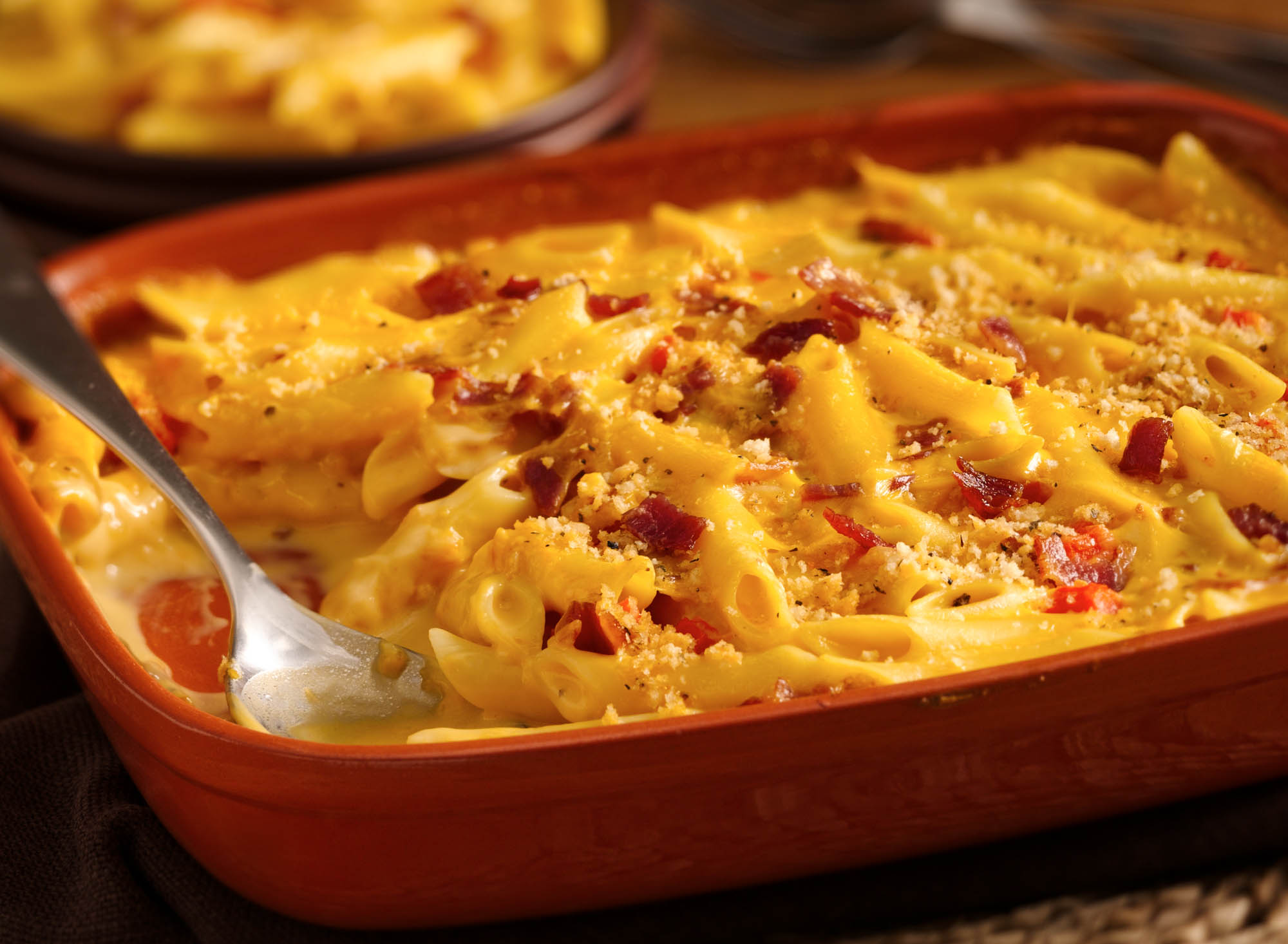 Macaroni & Cheese With Bacon Recipes — Dishmaps