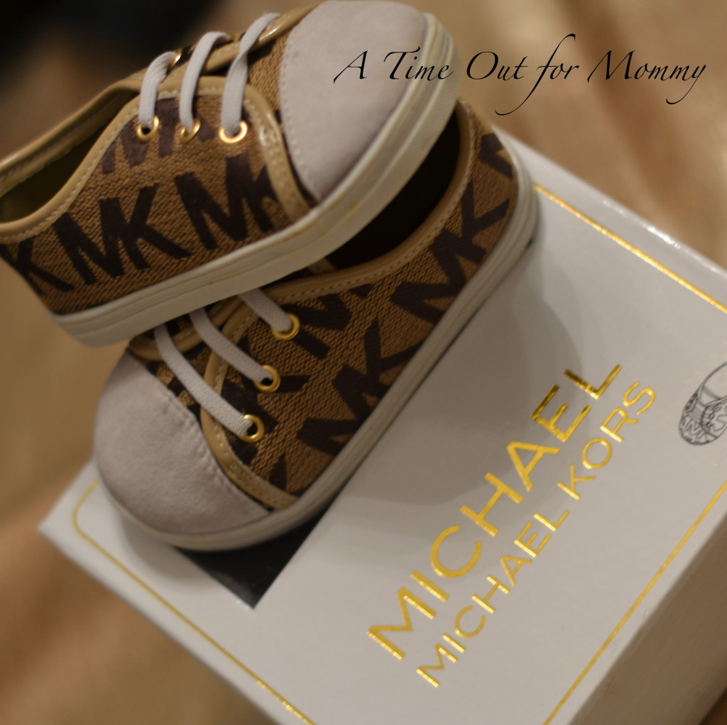 Michael Kors Baby Ivy Sneak A Time Out for Mommy