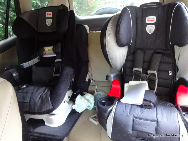 Growing Up With The Britax Pinnacle 90