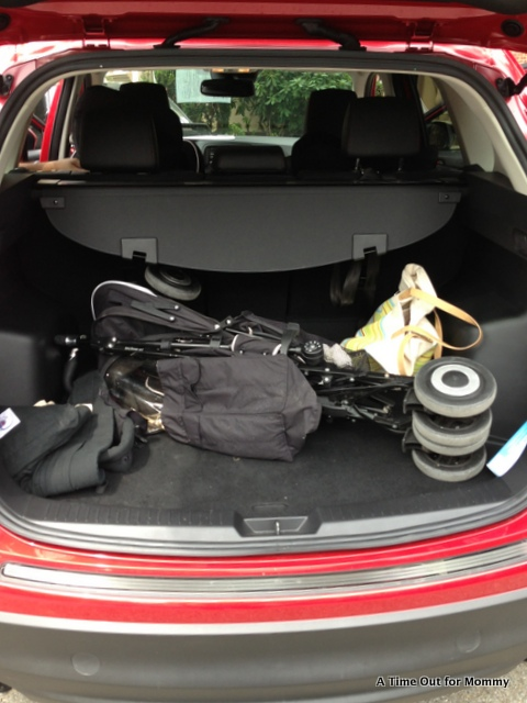 Mazda Cx 5 Trunk Space >> 2014 Mazda CX-5 Review - A Time Out for Mommy