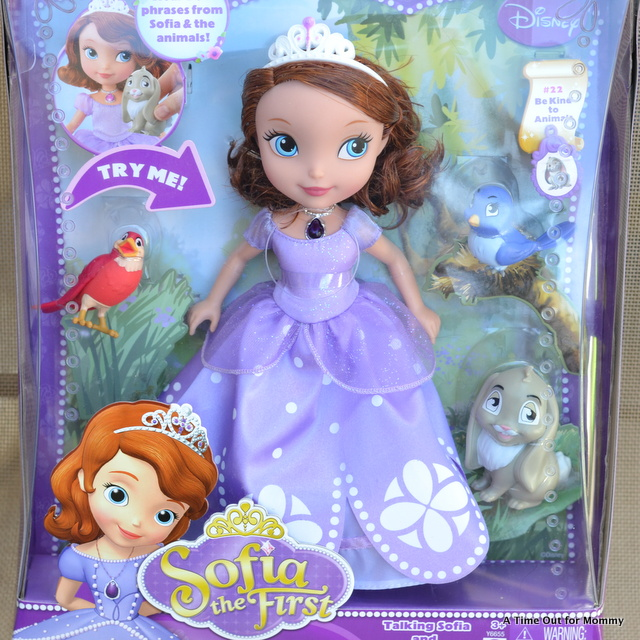 sofia the first talking animals