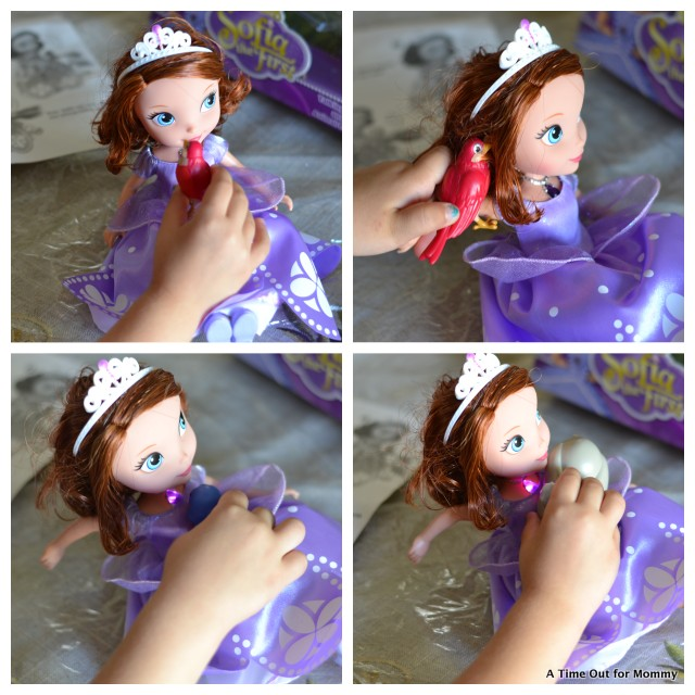 talking sofia the first