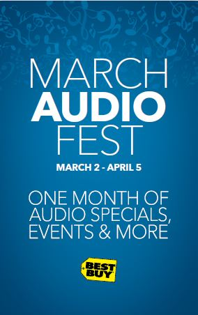 Check Out Best Buy's AudioFest this Month! #AudioFest @BestBuy @BestBuyWOLF