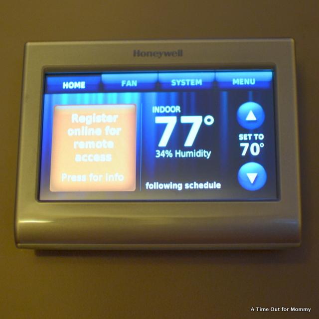 Honeywell Smart Wifi Thermostat-005