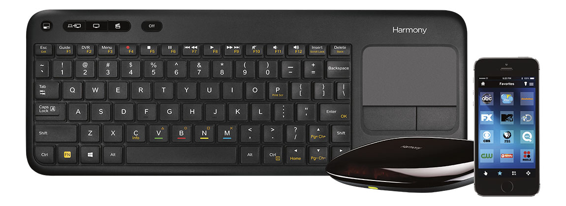 Check out the new @Logitech Harmony Keyboard for Smart TVs at @BestBuy #HarmonySmartKeyboard