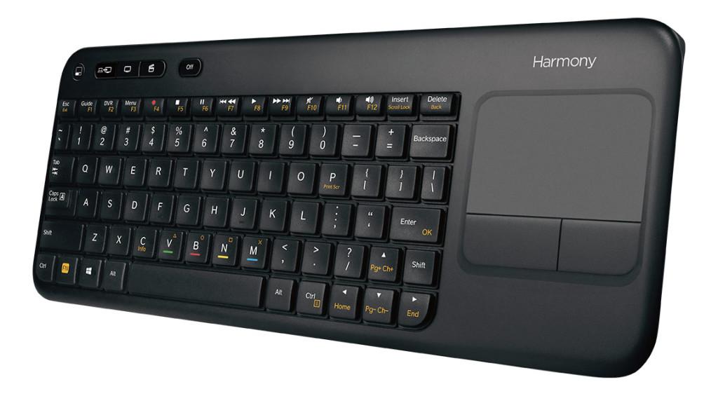 Logitech Keyboard front angle