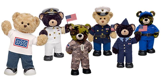 Build-A-Bear military dress