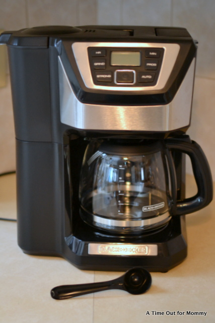 Black + Decker Mill & Brew Coffee Maker #HolidayGiftGuide2014 - A Time Out for Mommy