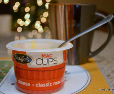 Taking A Time Out for Mommy With Stouffer's #MacCups! #sponsored
