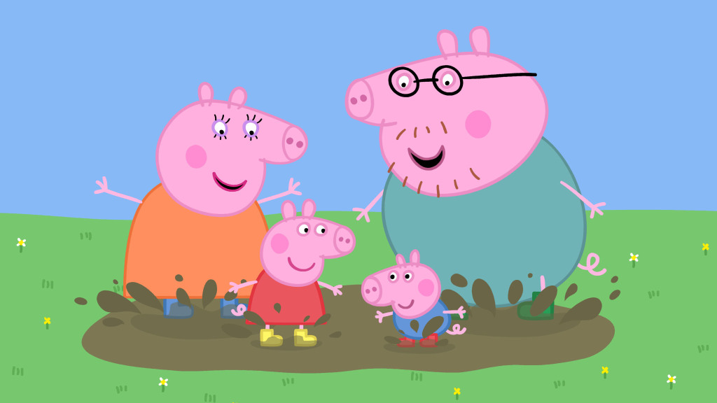 I M A Peppa Pig Parent