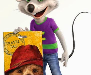 Chuck E Cheese's Has A Fun Promotion! #ChuckEAndPaddington #PaddingtonMovie
