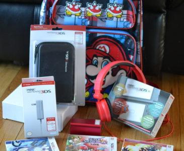 Nintendo Keeps Backseat Passengers Entertained During Summer Travels