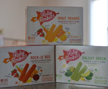 Beating the Summer Heat with Rubys Rocket's #RubysRealPops #RealFood