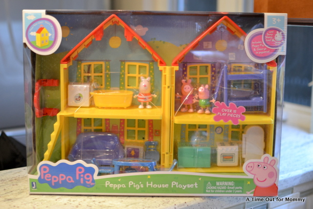 The Peppa Pigu0027s House Playset Looks Just Like The House You See On The Hit  Television Show. The Set Includes Peppa, Suzy Sheep, And George  Peppau0027s  Baby ...
