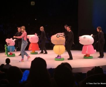 Peppa Pig Comes to the US With Peppa's Big Splash! #PeppaPigLive