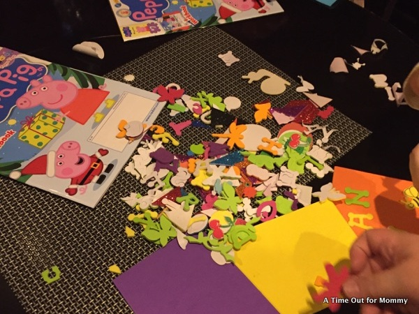 Peppa Pig Coloring Book Games : Peppa pig sticker books 10 books set