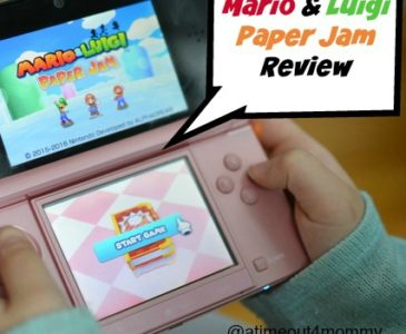 Mario and Luigi Paper Jam for Nintendo 3DS Review #MarioLuigi #PaperJam #NintendoKidReviewer