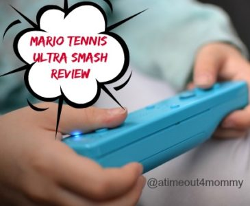 Snowy Day Indoors with the Family and Mario Tennis: Ultra Smash on #WiiU #NintendoKidReviewer