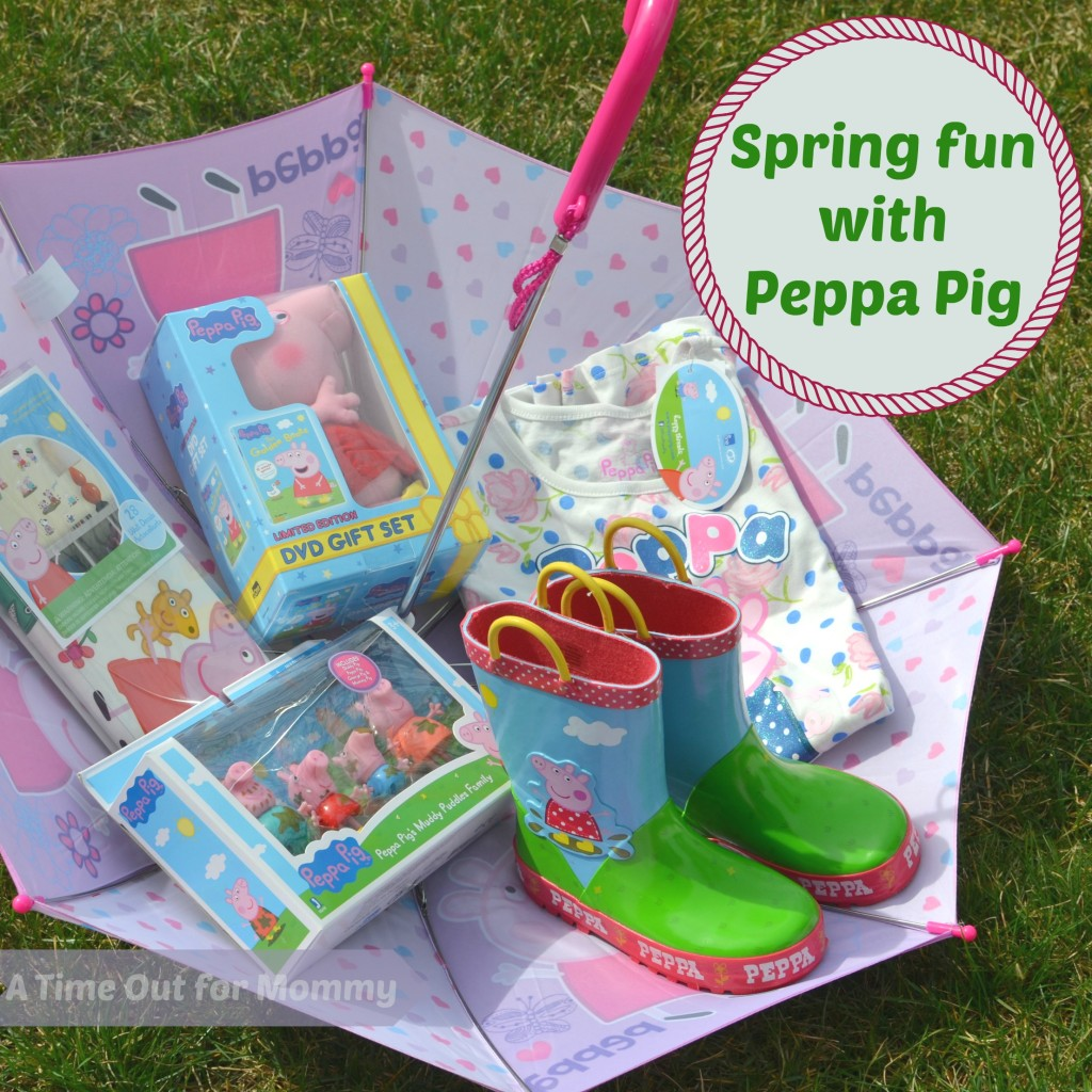 Something Different A Peppa Pig Easter Basket A Time