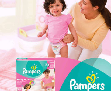 Preventing Night Time Leaks During Potty Training with #PampersEasyUps (#GIVEAWAY)