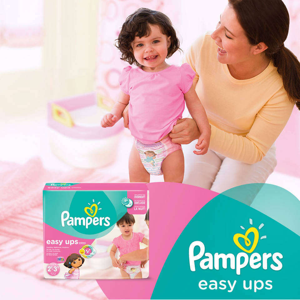 Pampers Easy Up image