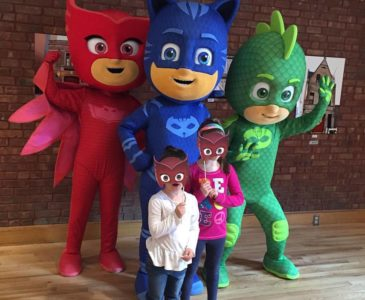 Celebrating Superhero Day with NYC Firefighters and a PJ Masks craft