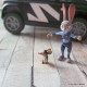 Officer Judy Hops is on Patrol in her Police Cruiser