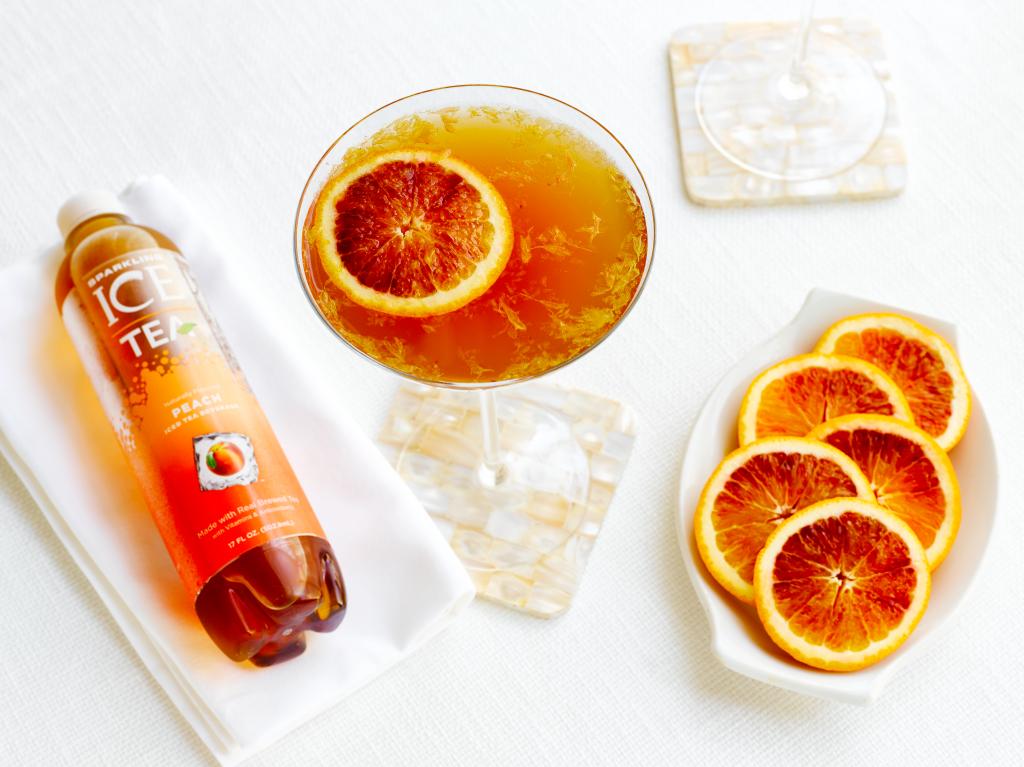 Blood Orange Tea Bottle