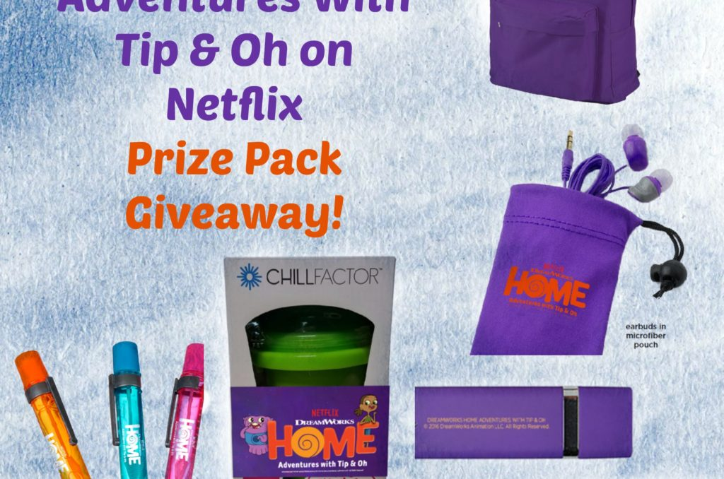 Have A Boov-Approved Summer With an Adventures with Top & Oh Prize Pack #HomeTipandOh