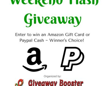 Enter to win a $50 Amazon gift card!