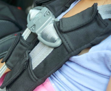 Keeping kids comfortable and safe on car rides