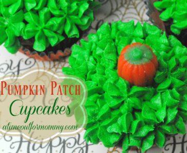 Celebrate Autumn with a Pumpkin Patch Cupcake Recipe!