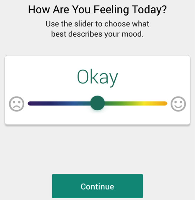 Help Track Your Mood with Moodivator
