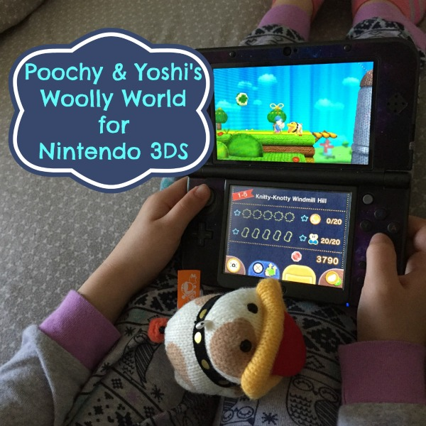 On the go fun with Poochy & Yoshi's Woolly World for Nintendo 3DS