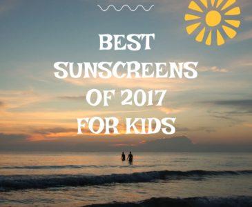 Best Sunscreens 2017