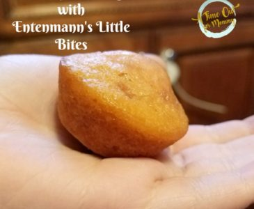 On the go Breakfast with Entenmann's Little Bites