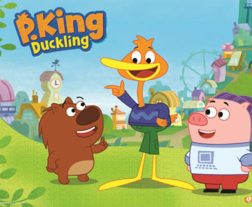 Check out P. King Duckling on Disney Jr and Enter To Win a Prize Pack!