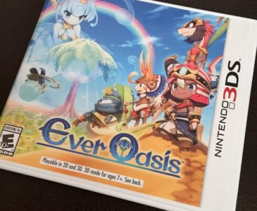 Summer Travels With Nintendo 3DS and Ever Oasis Review