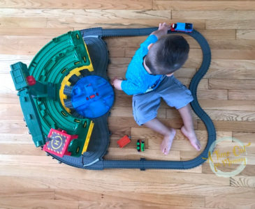 A Special Playdate Just for My Little Guy, Featuring The Thomas and Friends Super Station