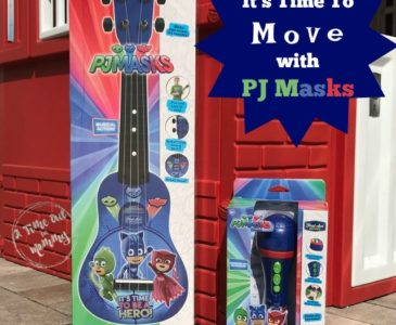 Get Moving With PJ Masks Musical Instruments by First Act