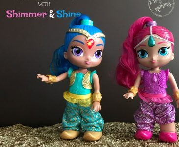 Our Adventure to the North Pole with Shimmer & Shine