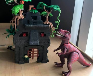 Playmobile Explorers offers Their Hidden Temple with T Rex for hours of fun
